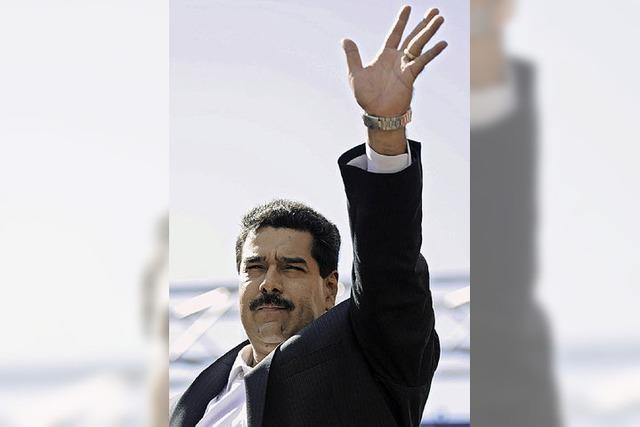 Venezuelas Präsident regiert jetzt per Dekret