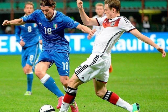 Deutschland kann gegen Italien nicht gewinnen