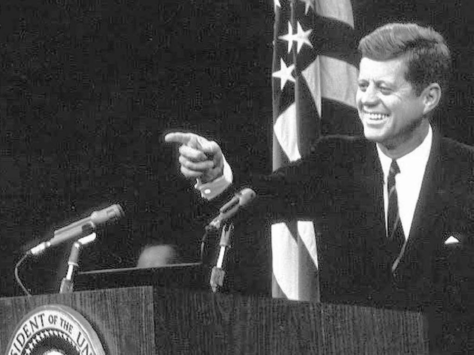 Die Legende lebt: US-PräsidentJ. F. Kennedy, †  22. 11. 1963  | Foto: dpa