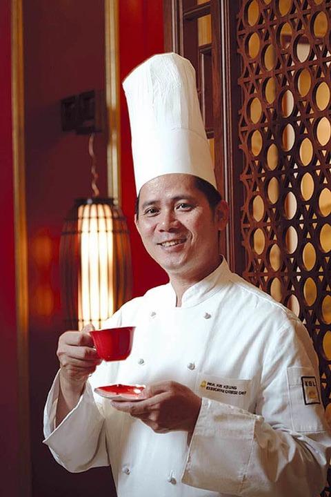 "Mok Kit Keung hat  im ""Shang Palace"" zwei Sterne erkocht.  | Foto: bz"