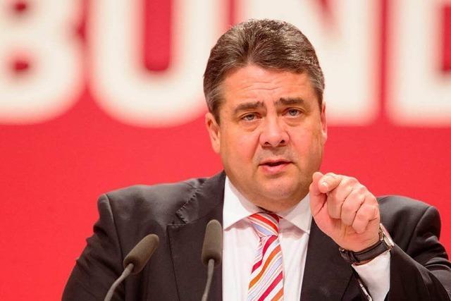 SPD-Parteitag: Gabriel erhöht Druck auf Union
