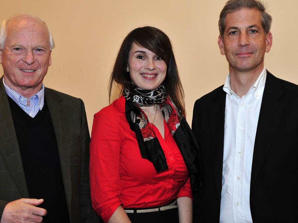 Die Freiburger CDU-Spitzenkandidaten f...lin Jenkner, Klaus Schüle (von links).  | Foto: Thomas Kunz (honorarfrei)