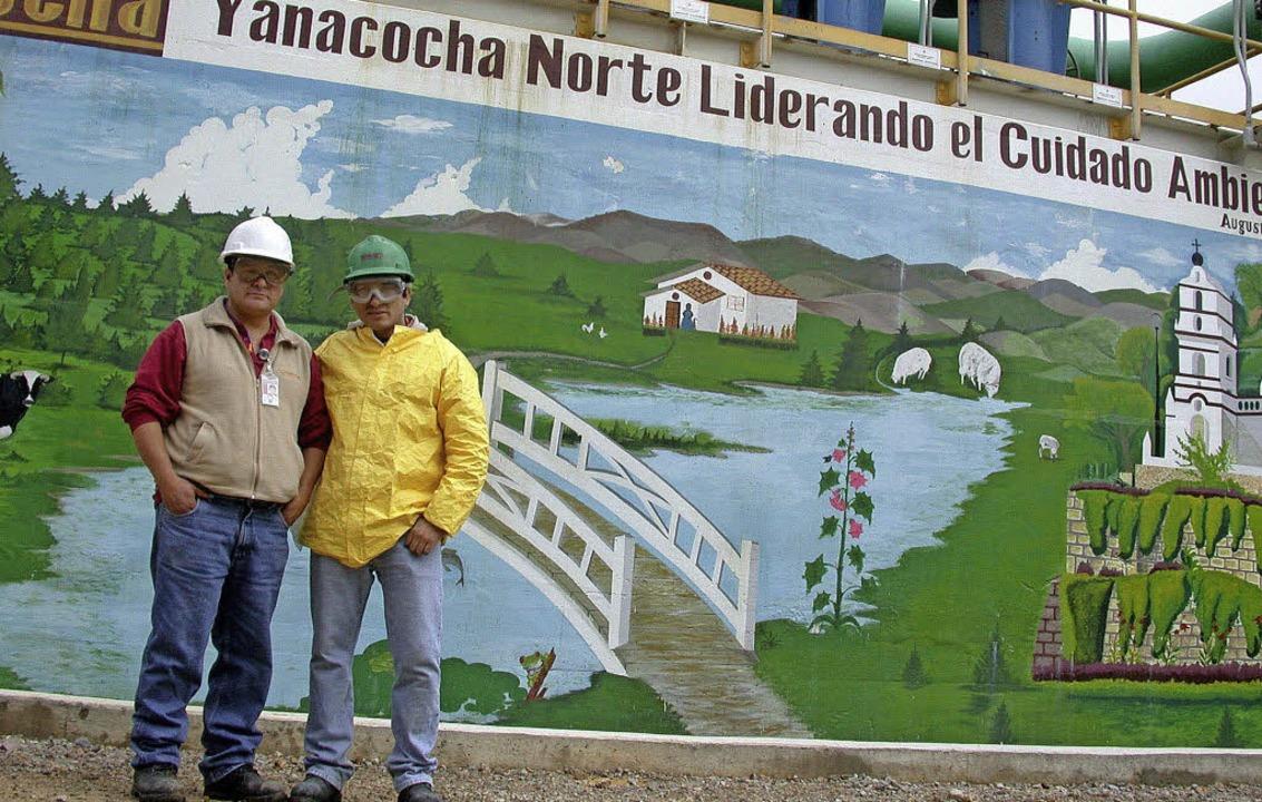 Yanacocha ist führend im Umweltschutz ...nicht alle unterschreiben die Aussage.  | Foto: DPA Avis