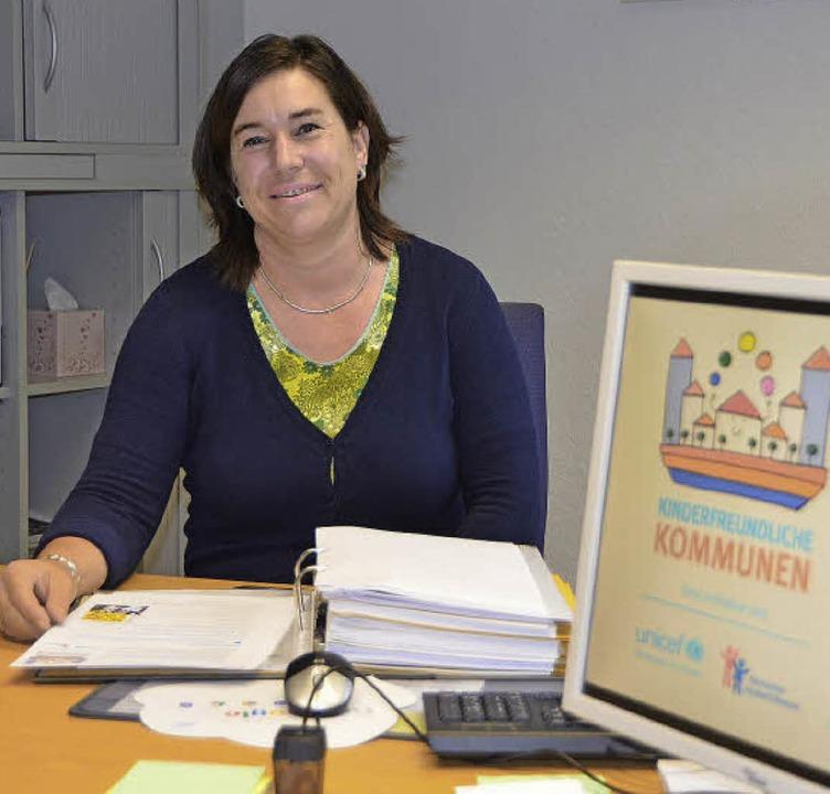 Michaela Rimkus, Projektleiterin Kinderfreundliche Kommune   | Foto: Senf
