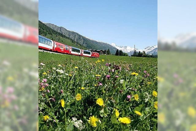 Spektakuläres Bahnerlebnis Alpen
