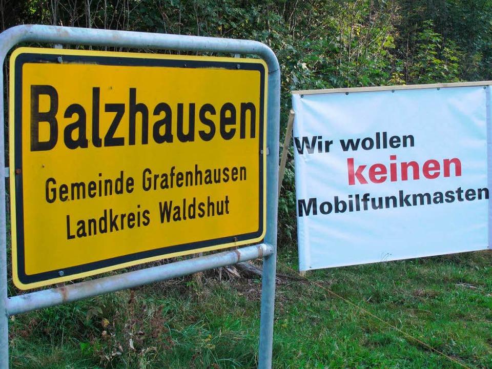 Kommt ein Funkmast nach Balzhausen? Ist Breitband eine Lösung?  | Foto: Wilfried Dieckmann