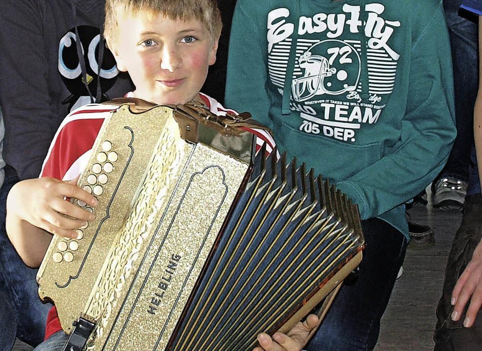 Auch der Nachwuchs wird das Jahreskonzert mitgestalten.   | Foto: Karin Steinebrunner