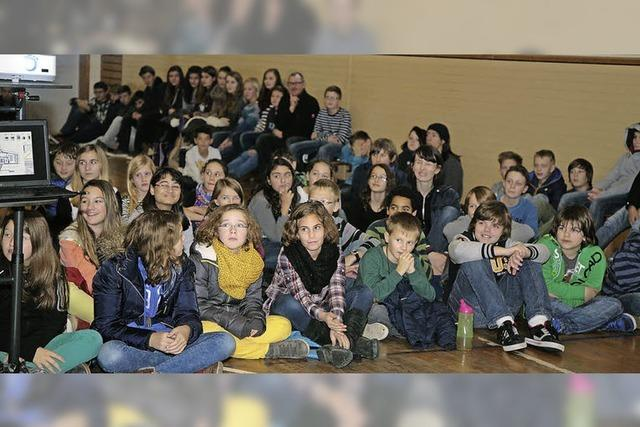 Schüler freuen sich auf Startschuss für Mensabau