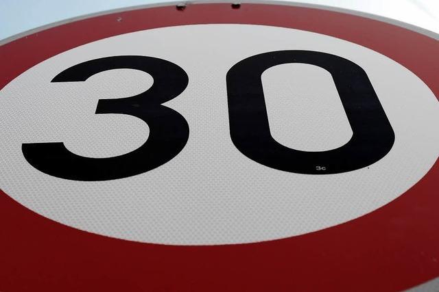 Tempo 30 und Rückbau der Straße