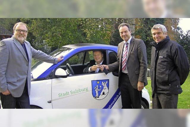 Sulzburg als Vorreiter in Sachen Elektromobilität