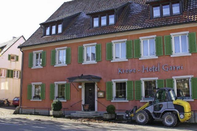 Willi Sutter erwirbt Hotel Krone in Kirchzarten