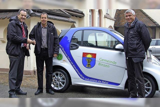 Elektromobilität: Binzen fährt voraus