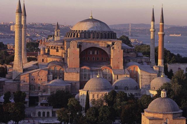 Die Hagia Sophia soll wieder eine Moschee werden