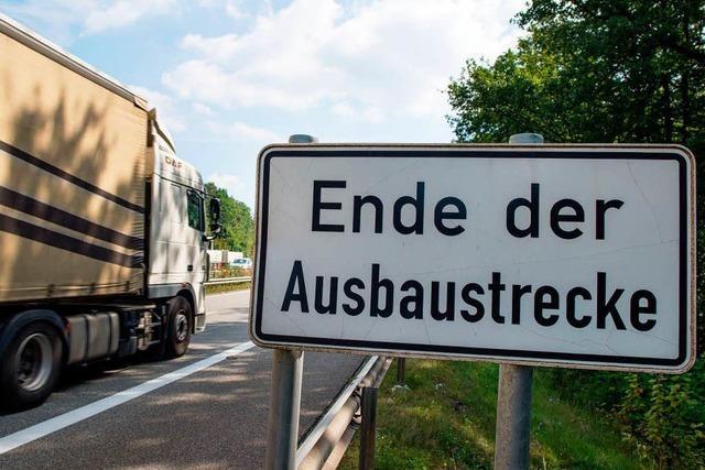 Stuttgart stellt A5-Ausbau hinter Freiburger Tunnel zurück