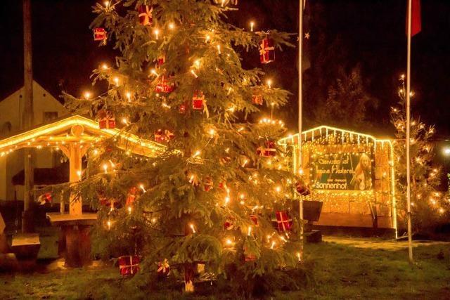 Wann darf Weihnachtslicht leuchten?