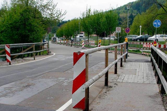 Hohbergweg-Brücke erst 2014 fertig