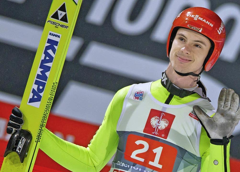 Andreas Wank startet voller Zuversicht...ille. Die darf ruhig aus Gold sein.     | Foto: dpa