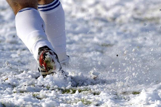 Schnee als Spielverderber