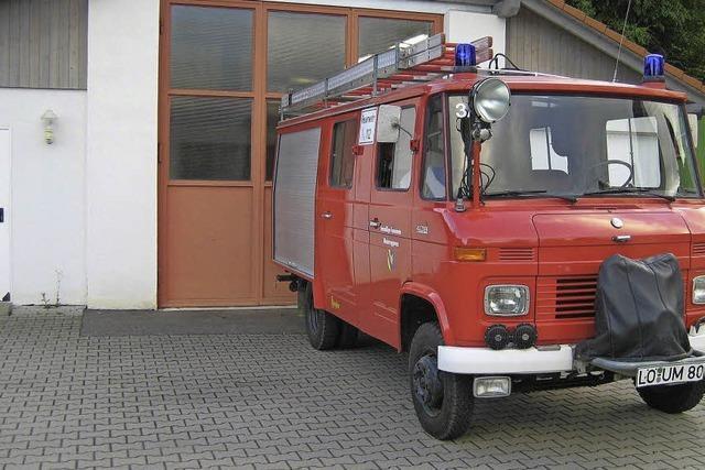 Sorgen um neues Feuerwehrauto