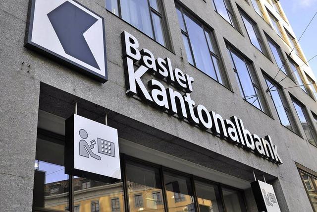 Aufsicht rüffelt Basler Kantonalbank