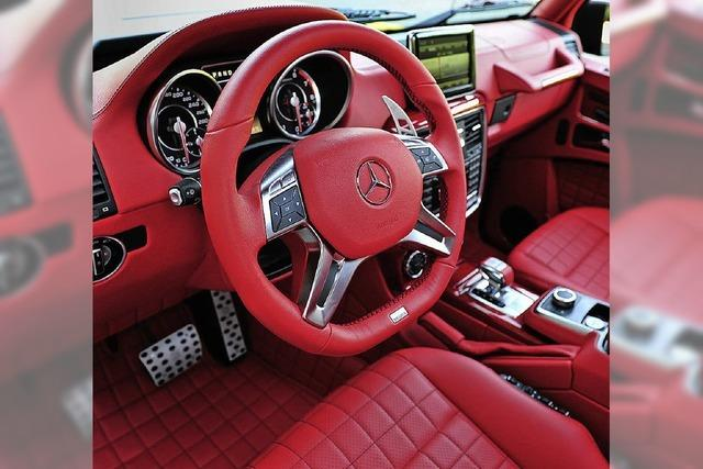 Schöne bunte Autowelt