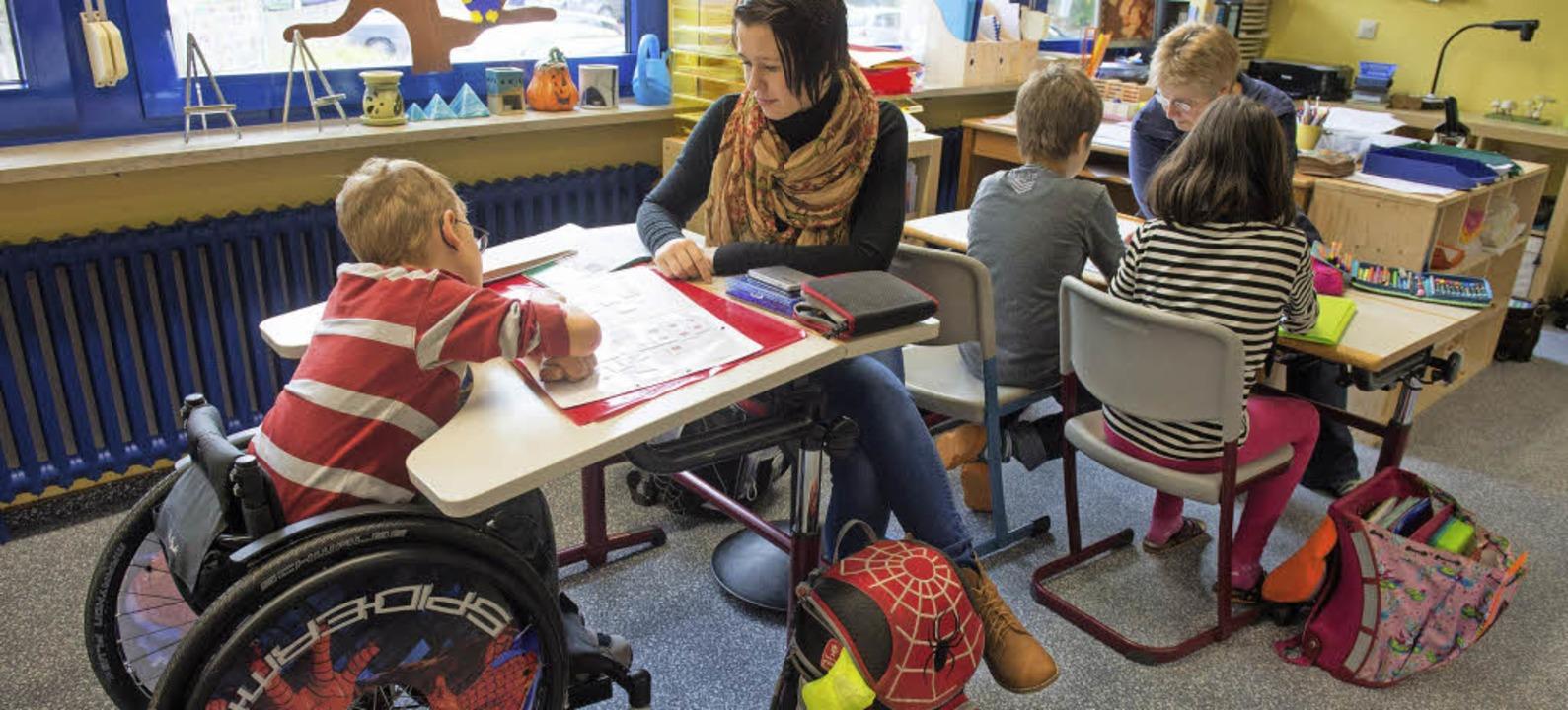 Inklusion ist besonders in der Schule wichtig.   | Foto: dpa