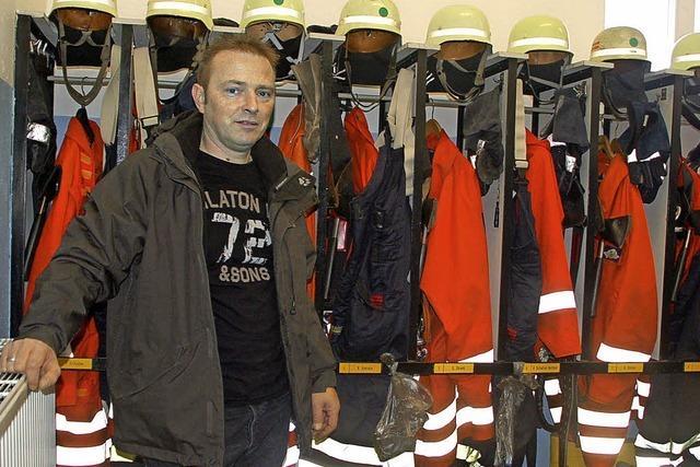 Feuerwehrleute frieren nicht mehr