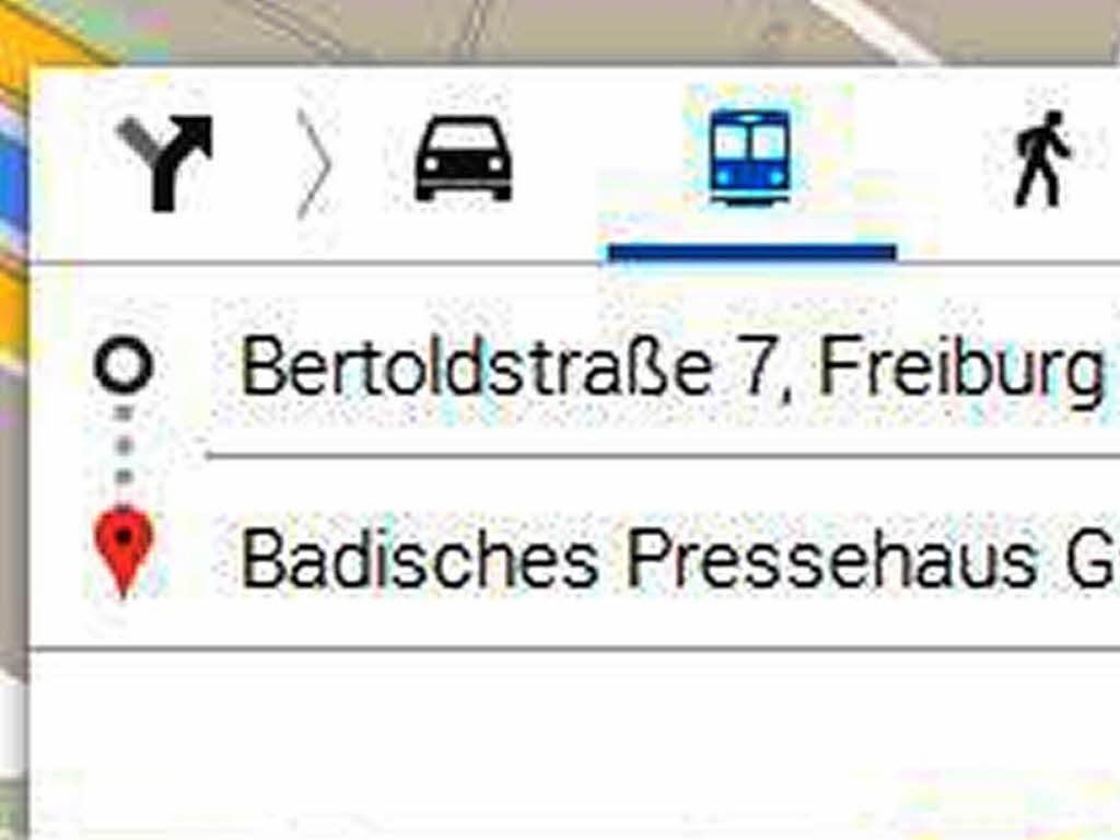 Google Maps Kann Jetzt Fahrplandaten Von Vag Und Südbadenbus
