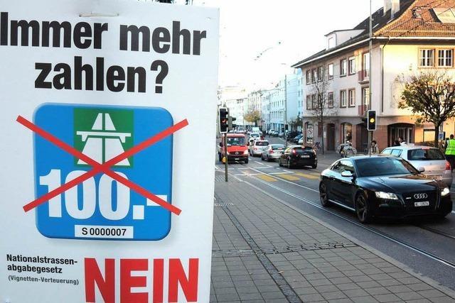 Kommt die 100-Franken-Vignette? Schweizer stimmen ab