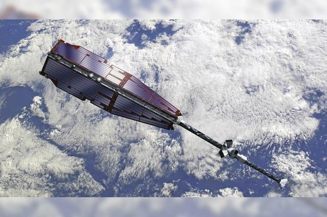 Drei jetzt gestartete Swarm-Satelliten untersuchen künftig das Erdmagnetfeld