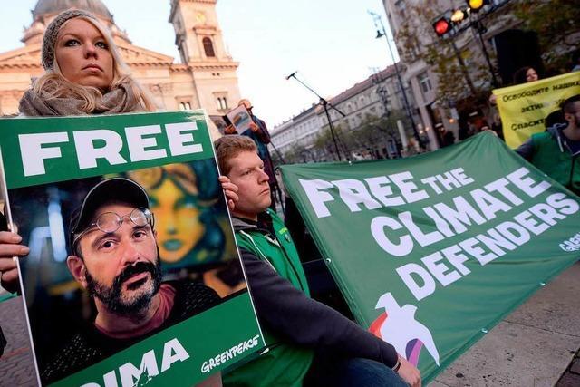 Erfolg für Greenpeace-Aktivisten