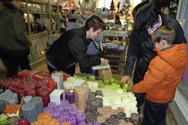 Lenzkirch glänzt beim Einkaufen