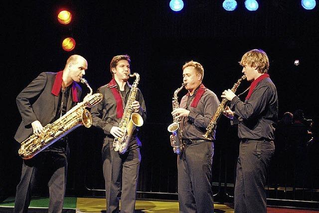 Amstel Qartet: Vier Enthusiasten des Saxophons