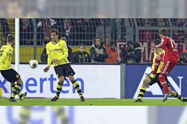 Götzes Zauber, Dortmunds Schmerz