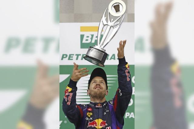 Jetzt fährt Meister Vettel herunter