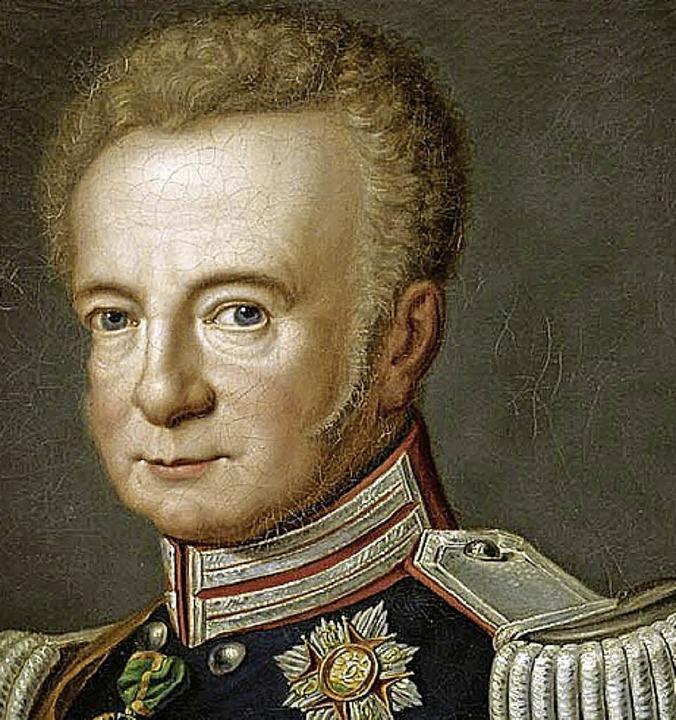 Großherzog Ludwig I. von Baden 1820  | Foto: Bild honorarfrei