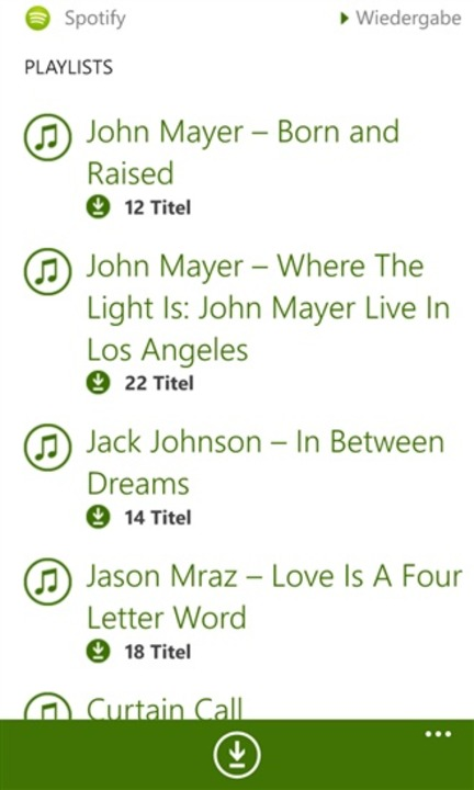 Spotify für Windows Phone  | Foto: IDG