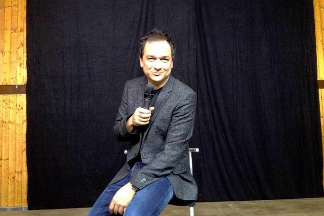 Wutachhalle lacht sich halb tot über Beziehungskiller Stephan Bauer