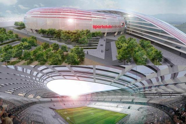 Lahrer entwirft futuristisches Stadion für den SC Freiburg