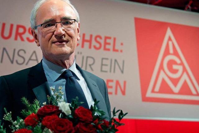 Detlef Wetzel als Vorsitzender der IG Metall gewählt