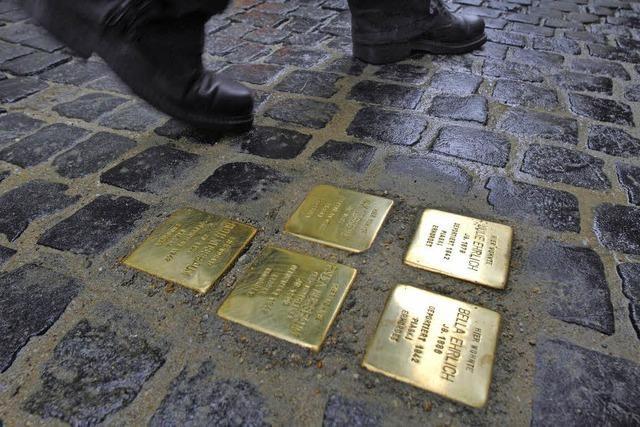 Stolpersteine zum Gedenken an den Holocaust - auch in Emmendingen?