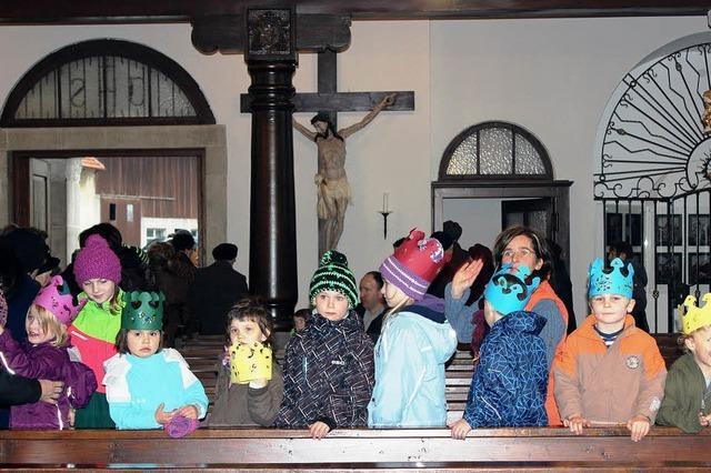 Dankgottesdienst in der renovierten Kirche