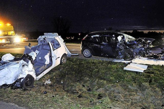 Zwei Schwerverletzte bei Unfall auf K 5332