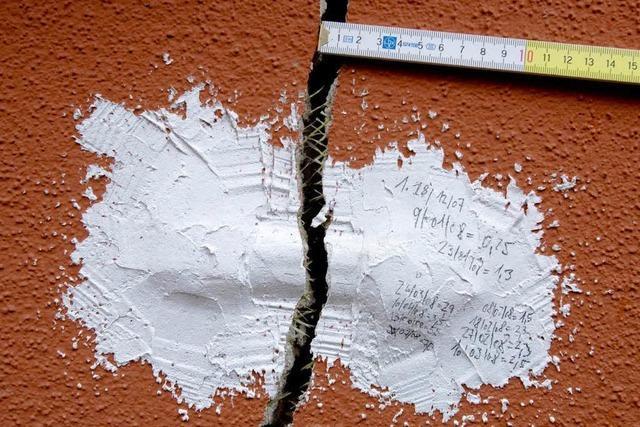 Risse-Krise in Staufen: Die Schäden nehmen weiter zu