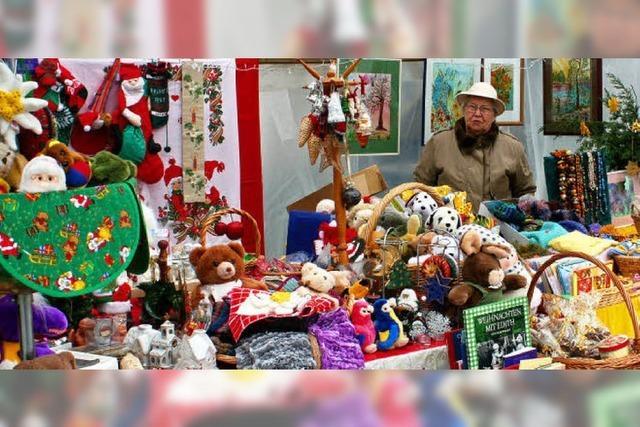 Der Weihnachtsmarkt lockt