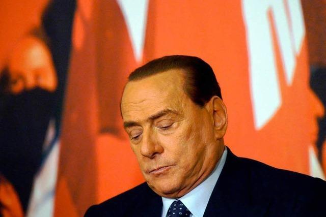 Berlusconis Macht zerbröckelt