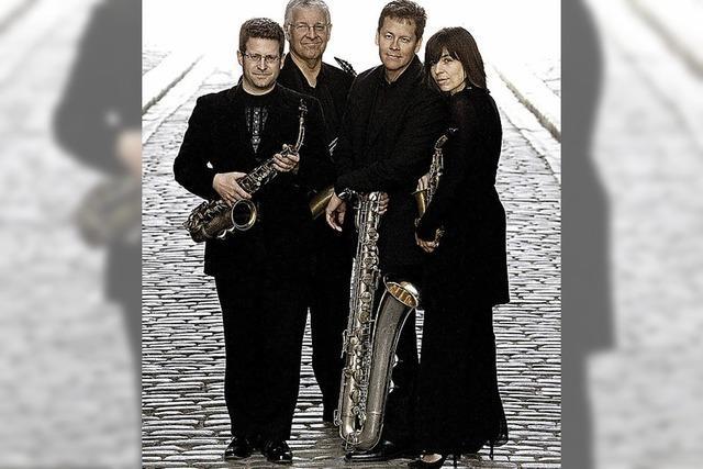 Bach plus: Das Raschèr Saxophone Quartet in Müllheim