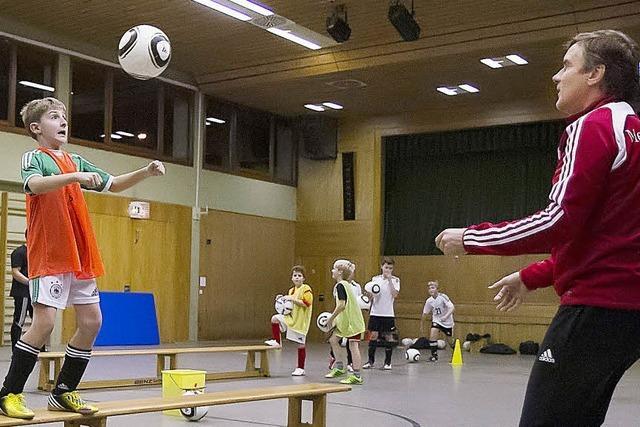 Dribbeln und Balljonglage