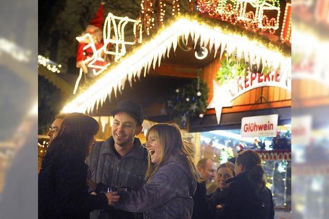 Weihnachtliche Lichtblicke in Lahr