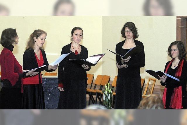 Schöne Harmonien zelebriert